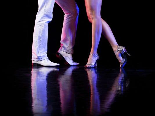 Dancing feet.