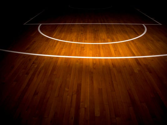 basketball court generic stock image