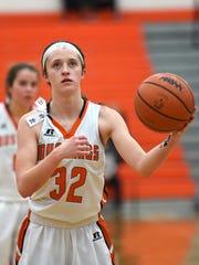 Northville's Ellie Thallman returns for her senior season at guard for the Mustangs.