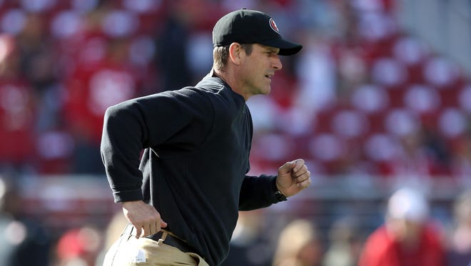 Jim Harbaugh.