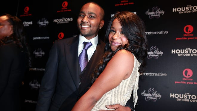 Bobbi Kristina Brown and Nick Gordon in October 2012.