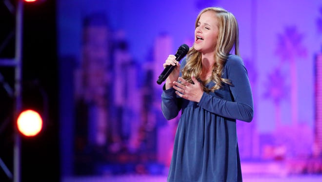 """Evie Clair brought audience members to tears with her performance of """"Arms"""" on """"America's Got Talent."""""""