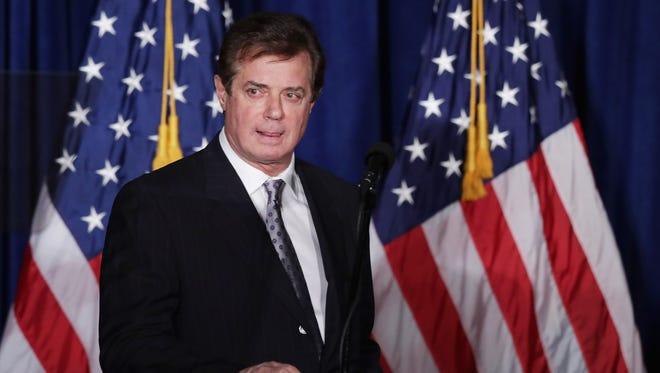 Paul Manafort, ex jefe de la campaña de Donald Trump.