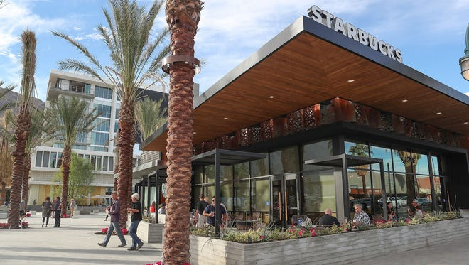 The new Starbucks Reserve in downtown Palm Springs, November 17, 2017.