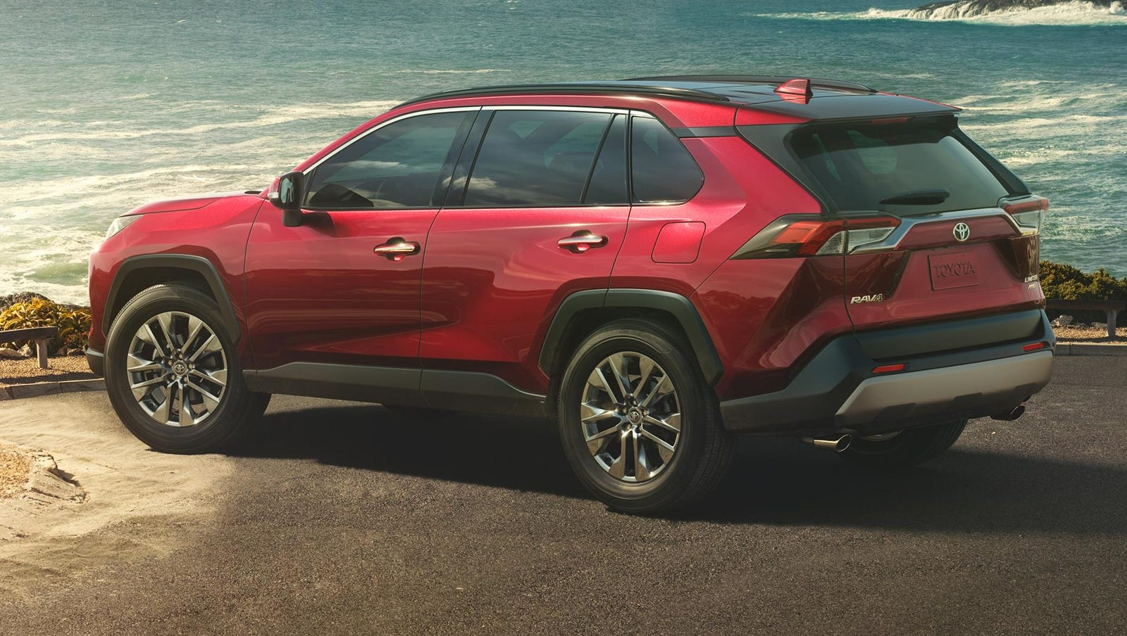 Redesigned Toyota Rav4 Gets A More Rugged Look For 2019