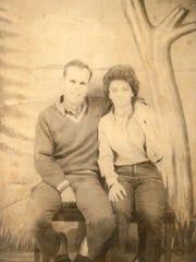 Mr. and Mrs. Alton Martin Jr. -- 1964