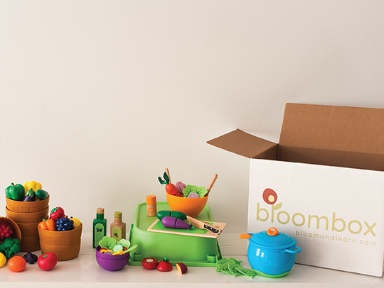 A subscription to Bloombox earns toys delivered to