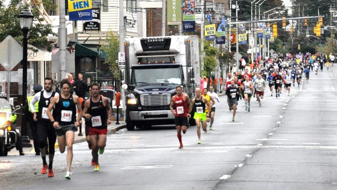 Participants of last year's Main Street Mile.