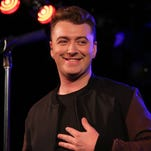 Sam Smith performs at the Red Bull Sound Space at 97.1 AMP Radio on Aug. 25, 2014 in Los Angeles.