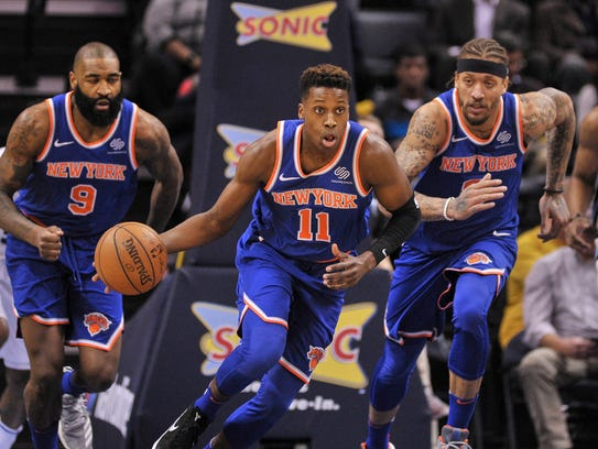 Knicks rookie guard Frank Ntilikina could see more