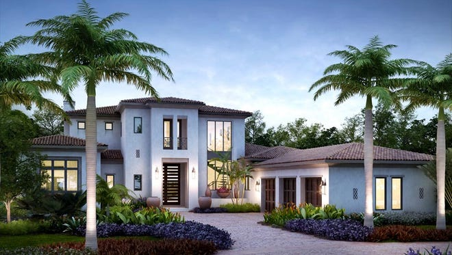 London Bay Homes' Sardinia model will feature 5,939 square feet of interior living space.