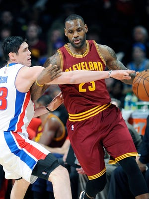 Cavs' LeBron James has sent mixed messages in terms of whether he is content in Cleveland.
