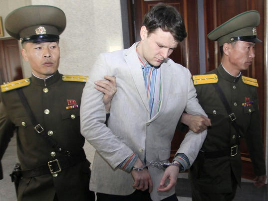 AP NORTH KOREA DETAINED AMERICAN I PRK