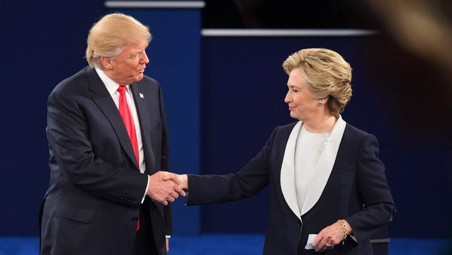 The second presidential debate Sunday in St. Louis.