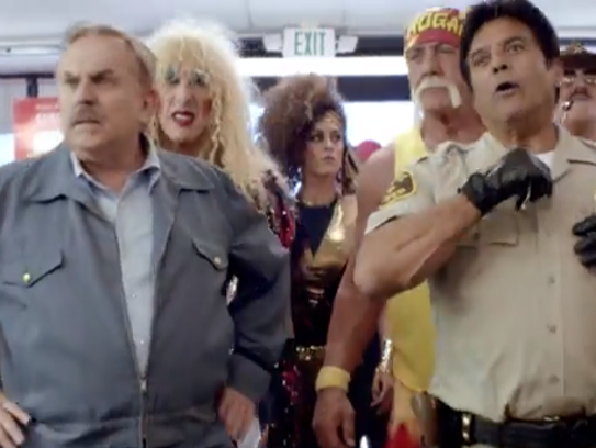 RadioShack's ad led to a spike in conversation about