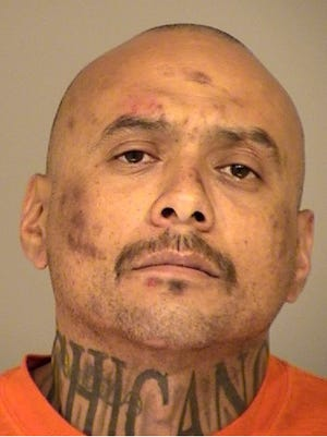 Dean Aguilar, 41, of Moorpark, was arrested Wednesday morning in connection with resisting arrest, making criminal threats and other felony offenses.