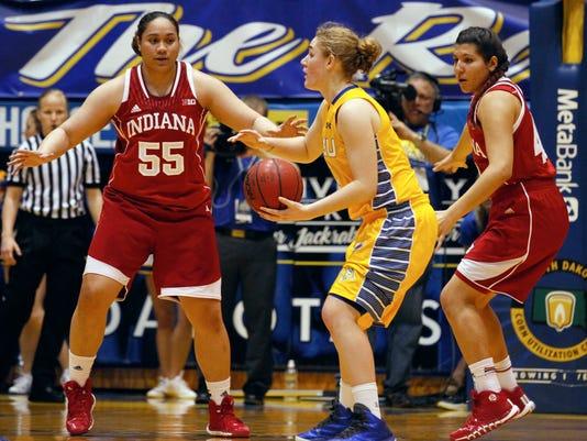 WNIT Indiana S Dakota St Basketball