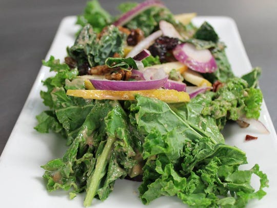Kale salad will be on the menu at Fish during Jersey