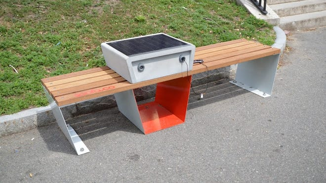 The Internet of Things could soon arrive at your neighborhood park bench.