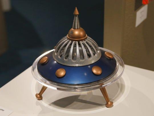 """Candy Blue UFO"" by Robb Rocket"