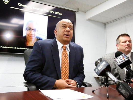Chemung County Sheriff Christopher J. Moss identified