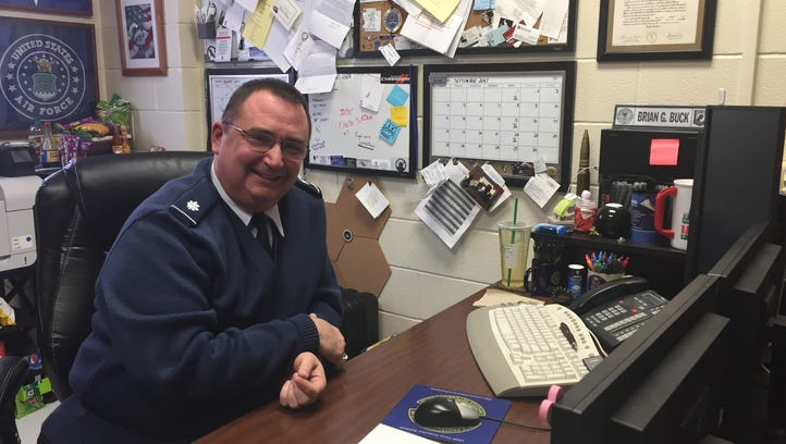 Lt. Col. Brian Buck, leads West Monroe High School's