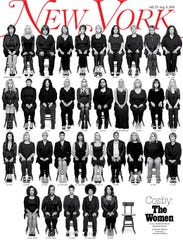 Cover of 'New York Magazine' on July 27, 2015
