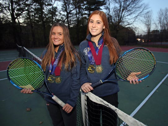 Form left, Laina Campos and Vanessa Ciano of Ursuline