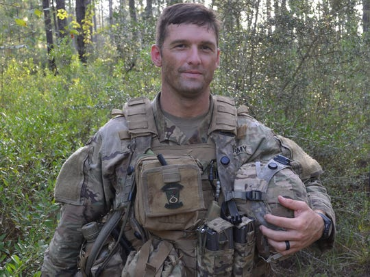 "Capt. Kenrick Cormier, commander, 3rd Battalion, Bravo Company: ""I just want to run my fight. As commander, I have a lot of assets at my disposal. What I like to do is use those assets to make their job (the infantry soldiers) as easy as possible."""