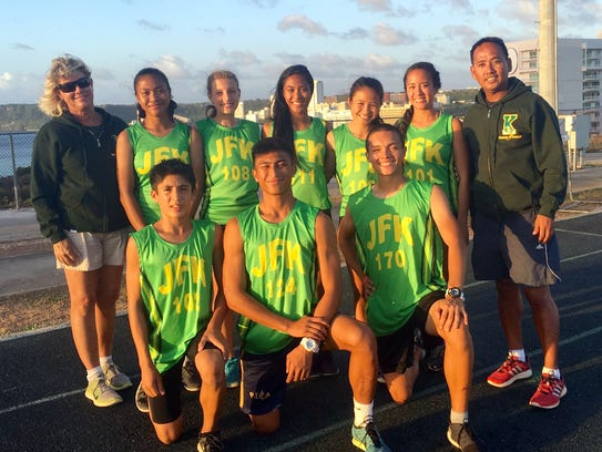 The John F. Kennedy Islanders will have eight athletes