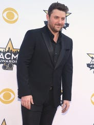 Country star Chris Young performs Friday, May 29, at