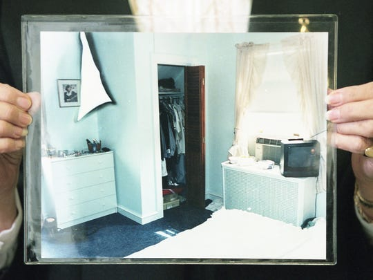 Pictures of Anne Marie Fahey's room after her disappearance in 1996 were used as evidence during the Thomas J. Capano murder trial Thursday, October 29, 1998.