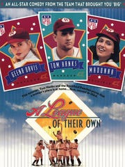 """A League of Their Own"" movie poster."