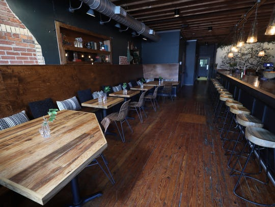 Interior photo of East Nashville's Walden Tuesday March