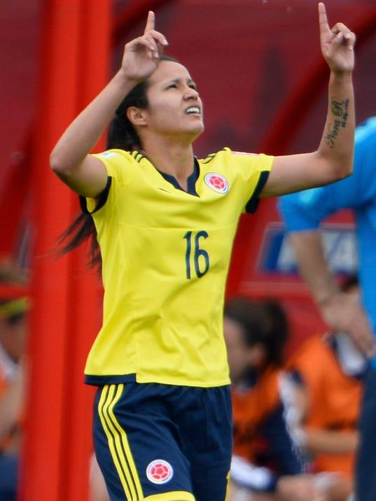 EPA CANADA SOCCER FIFA WOMEN'S WORLD CUP 2015 SPO SOCCER CAN MA