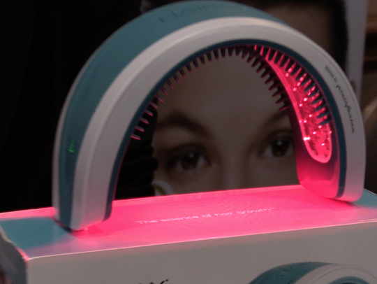 Hairmax is a $799 laser treatment to restore lost hair