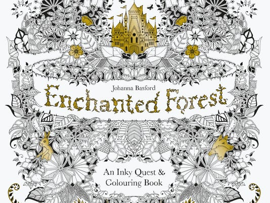 635635912211090730 EnchantedForest HighRes Cover The Of Johanna Basfords Best Selling Adult Coloring Book