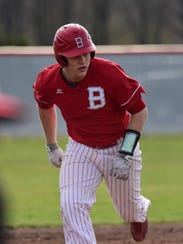 Bellevue 's Bryce Ray has 106 hits in his first three