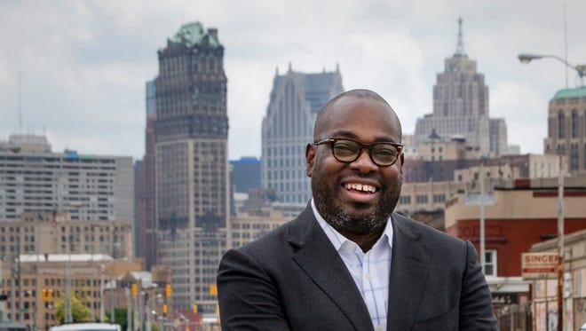 Detroit Free Press Editorial Page Editor Stephen Henderson.