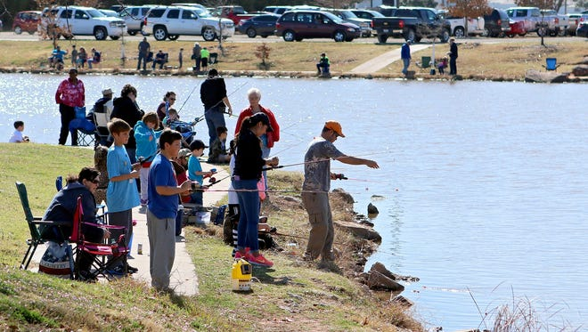 The Northwest Texas Field & Stream Association is offering its annual fishing event from 10 a.m. to noon June 16 at the headquarters at 2005 Southwest Pkwy.
