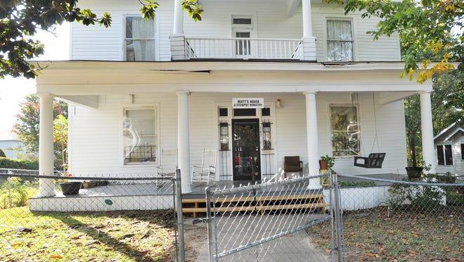 Matt Devenney Emergency Shelter for Women and Children is located at 343 Adelle St., in Jackson.
