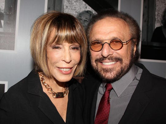 "Cynthia Weil and Barry Mann are characters in ""Beautiful: The Carole King Musical,"" and their songs are among those in the show."