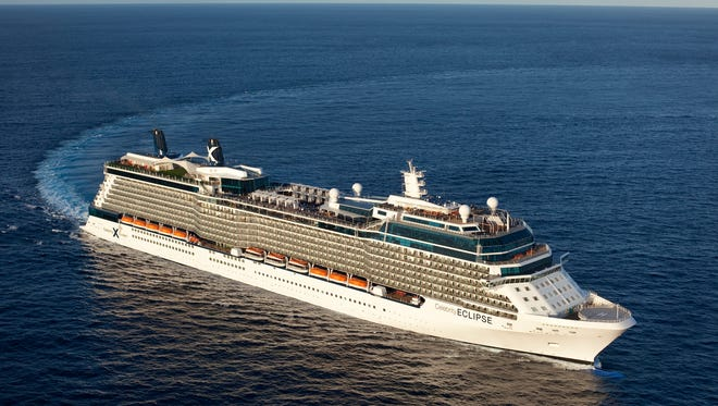 Celebrity Cruises' 2,852-passenger Celebrity Eclipse will sail to Alaska in 2019.
