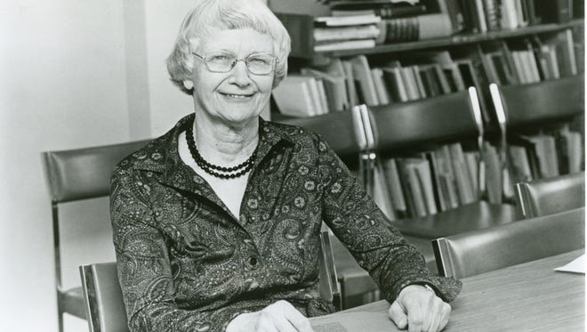 Mary I. Bunting, the Dean of Douglass Mary Bunting was appointed dean of Rutgers University's Douglass Collage in 1955.