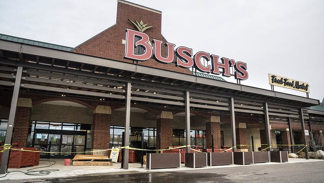 The long-awaited Busch's Market is set to open March 15.