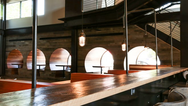 The new Dogfish Head Brewings & Eats will open Friday, May 19.
