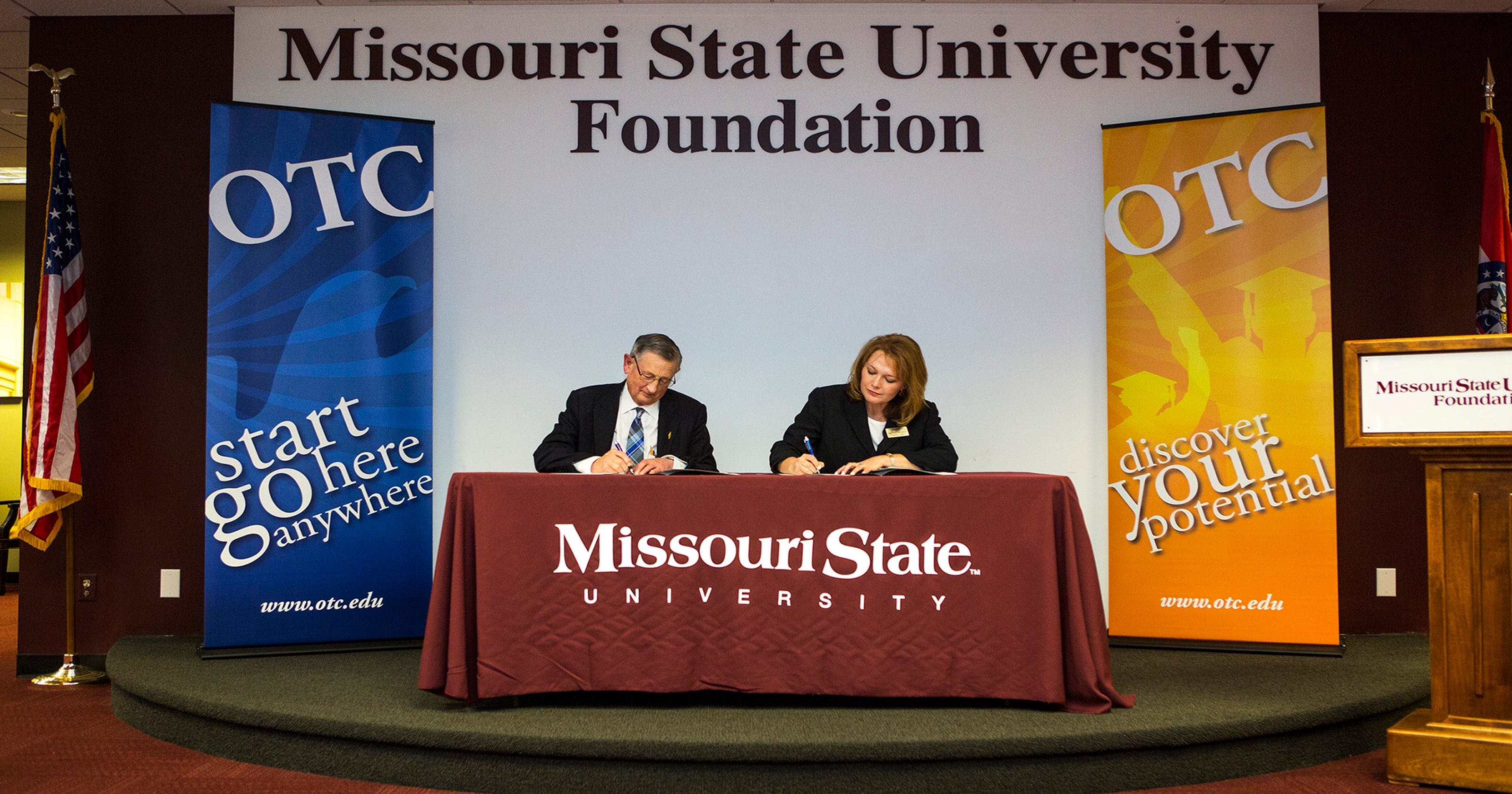 Otc Msu Sign Agreement To Benefit Honors Students