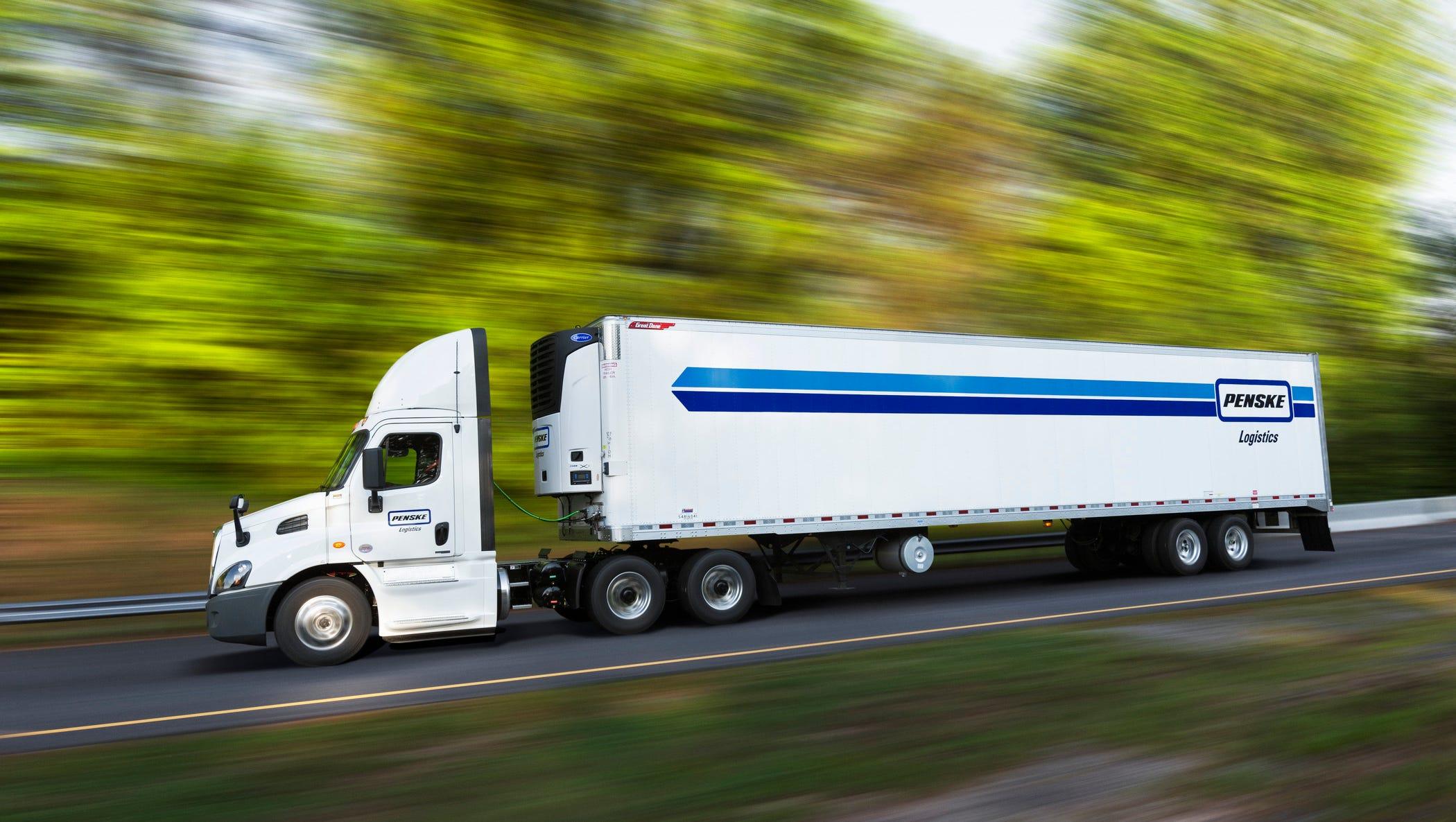 Penske Refrigerated Truck Rental Www Topsimages Com