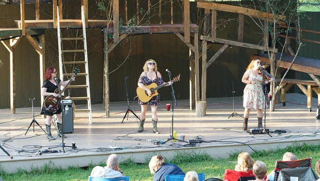 The Whiskey Belles perform at the Delafield SummerStage.