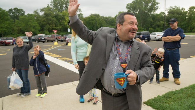 "Former Rosedale Elementary Principal Jon Wennstrom asks, ""Who's new to Buchanan?"""